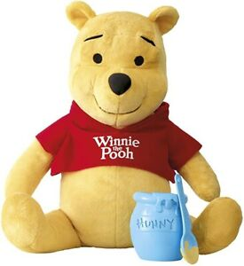 Winnie The Pooh With Honey Jar And Spoon Interactive Talking Soft Toy Friend