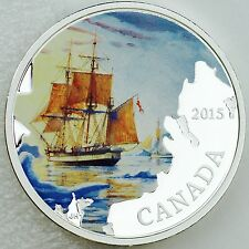 2015 $20 Lost Ships in Canadian Waters: Franklin's Lost Expedition Pure Silver