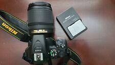 Nikon D D5500 24.2MP Digital SLR Camera - Black (Kit w/ VR 18-140mm DX Lens)