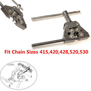 Motorcycles Scooter Chain Splitter Cutter Breaker Fit 415 420 428 520 525 530