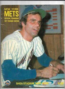 1977 New York Mets Revised Official Yearbook---Joe Torre  Good