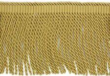 "HOULÈS Bullion Fringe 120 mm (4""3/4), Antique Gold, Valmont 36026-9120"