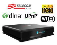 TELECOM DECODER DIGITALE TERRESTRE DVB-T FULL HD WIFI HDMI CUBO VISION UPnP DLNA