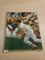 Todd Benzinger Autographed 8x10 Picture Photo Signature Signed Boston Red Sox