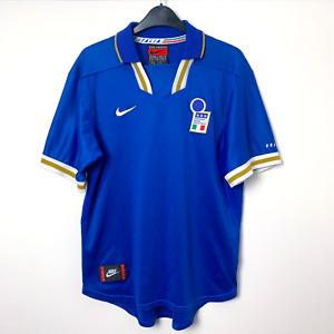 Original Italy Italia Euro 1996/1997 Home Football Shirt Maglia Calcio NIKE (M)
