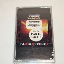 Trust Live Paris By Night Cassette France French Hard Rock Band Bonvolsin New