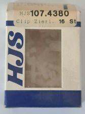 HJS 107.4380 Clip 16 Stück Zierleisten VW Passat  8.77 - 11.80