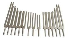 15 Pc Human Organ Tuning Fork With Rubber Mallet And Pouch Free Shipping