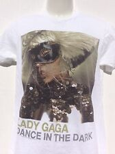Lady Gaga Monster Ball World Concert Tour The Fame Pop Music 2 sided Tshirt sz S