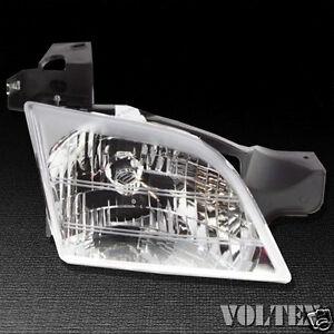 1997-2005 Chevrolet Venture Headlight Lamp Clear lens Halogen Right