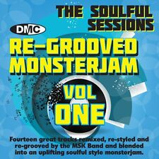 New DMC Re-Grooved Monsterjam 1 The Soulful Sessions Mixed DJ CD Megamix
