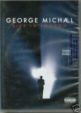 2 DVD SET GEORGE MICHAEL LIVE IN LONDON SEALED NEW