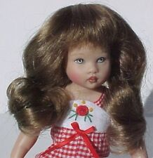 WIG Lizzy GINGER BROWN Made For Helen Kish Riley Doll (Debs)