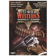 15 Wild Westerns: Marshals & Gunmen (DVD, 2009, 2-Disc Set)