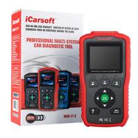 iCarsoft BMM V1.0 Diagnose Scanner für BMW Mini Öl Service Reset Rücksteller OBD