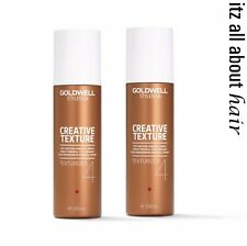 Goldwell StyleSign  4 Texturizer Mineral Spray 200ml x 2 Duo pack 2017