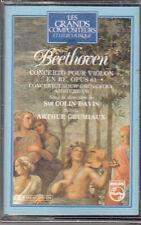 K 7 AUDIO (TAPE)  BEETHOVEN CONCERTO POUR VIOLON EN RE OPUS 61 (NEUVE)