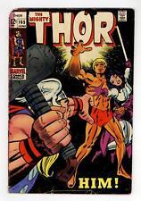Thor #165 GD 2.0 1969 1st full app. Adam Warlock