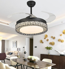 """New Listing42"""" Modern Ceiling Fans with Led Light Invisible Pendant Chandelier w/ Remote"""