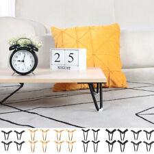 4pcs Heavy Hairpin Coffee Table Leg Iron Mid Century Style Furniture Leg