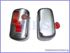 Vespa 6 /12 Volt Chrome Indicator Blinker & HORN Switch VBB SUPER SPRINTSET