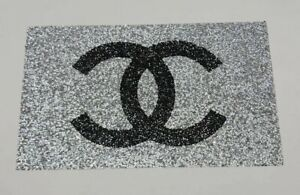 Diamante SILVER TABLE MAT Crushed Diamond Romany Crushed Sparkly Dining placemat