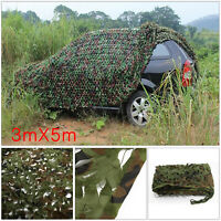 Oxford Fabric Camouflage Net Camo Netting Hunting/Shooting Hide Army 3m x 5m