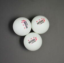 100Pcs REGAIL 3-Stars 40mm Olympic Table Tennis Balls White Ping Pong Balls