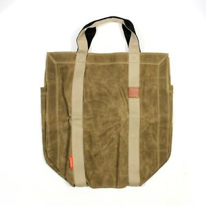 Inno Stage Firewood Log Carrier Tote Bag Khaki New