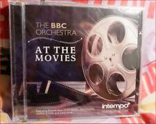 "BBC Orchestra New Sealed Freepost ""At the Movies"" CD+StarWars/Superman/JamesBond"