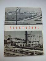City of Elektrenai 1964, Elektrėnai, set of postcards, power station, Lithuania,