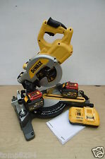 DEWALT 54V FLEXVOLT DCS777T2 216MM CROSSCUT MITRE SAW 6 AH  + REDEMPTION