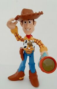 Toy Story Sheriff Woody Cowboy Light Up Torch / Talks Disney Pixar Collectible