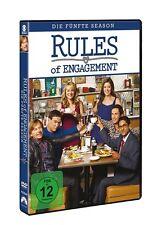 OLIVER/KAJLICH,BIANCA/KALYAN,ADHIR HUDSON - RULES OF ENGAGEMENT S5  3 DVD NEU