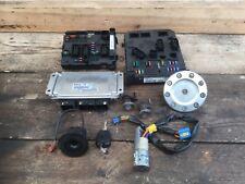 Peugeot 206 CC 03-07 1.6 16v NFU 0261208101 Ecu &  Key+Lock Set