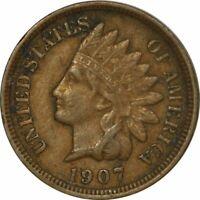 1907 Indian Cent -  Nice High Grade Circ Collector Coin! -d1131tcs2