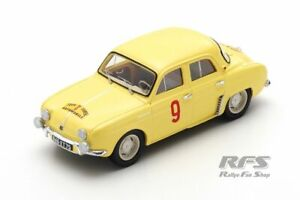 Renault Dauphine 850 Rallye Tour de Corse 1956 Thirion Ferrier 1:43 Spark 5208