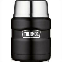 Thermos Stainless King Food Flask Stainless Steel Vacuum Insulated 0.47L