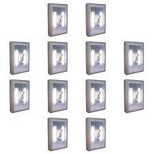 12PC PROMIER COB LED LIGHT SWITCH WHOLESALE LOT DEAL 12 WALL WIRELESS NIGHT