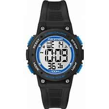 Timex Marathon Mid Digital Watch Blue TW5K84800 Unisex Authentic