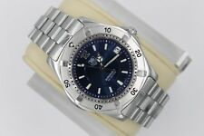 Tag Heuer 2000 AUTOMATIC Professional WK2117.BA0311 Watch Men NAVY BLUE Mint