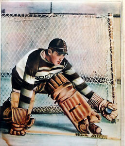 NOSTALGIA HOCKEY PRINT PHOTO TINY THOMPSON GOALIE  BOSTON BRUINS   TT4
