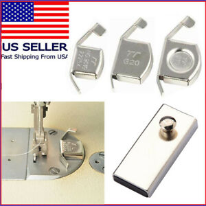 Fabric Magnet Magnetic Seam Guide Gauge ALL Sewing Machine SINGER BROTHER CONSEW