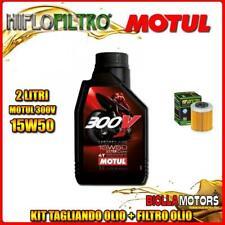 KIT TAGLIANDO 2LT OLIO MOTUL 300V 15W50 KTM 690 Enduro R 1st Oil Filter 690CC 20