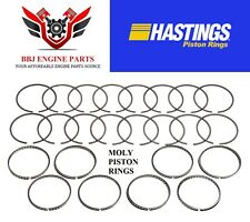 CHEVY GM GENIV 6.2 6.2L LS3 L92 HASTINGS PISTON RINGS 2M5292