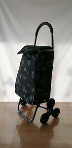 GRAND Chariot de courses - pliable - 6 roues - shopping caddie poussette marché