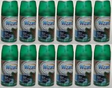12 Wizard Automatic Spray Refill Fits Air Wick & Glade Winter Pine Forest 5 oz