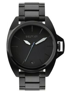 Nixon Anthem All Black Stainless Steel Watch A396-001 FREE EXPRESS POST A396001
