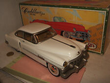 Fifties Co Ltd, Japanese Made Tin Plate 1950 Cadillac Saloon & Friction Motor
