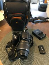 Nikon D D5100 16.2MP Digital SLR Camera - Black + VR 18-55mm Lens